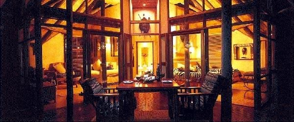 The enticing Amakhosi Lodge.