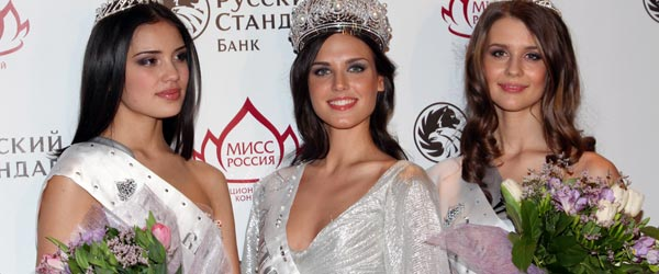 Miss Russia 2010 and the runner ups. Enough said.