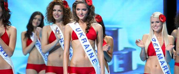 Miss Ukraine and the women of Kiev have a lot in common.