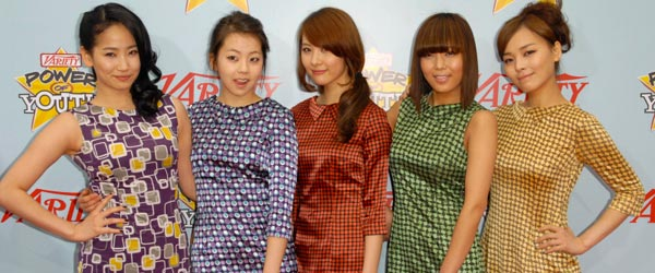 The Wonder Girls are one of South Korea's most popular pop groups.