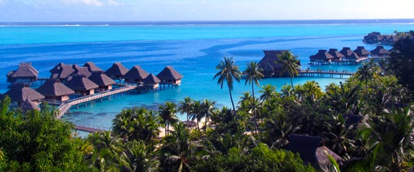 A typical resort on Bora Bora is anything but typical!