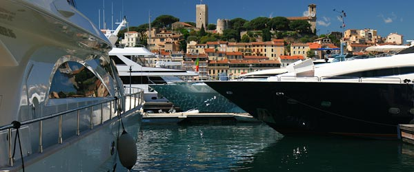The world's most luxurious yachts come to town during the Cannes Film Festival.