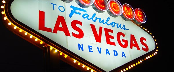 This iconic sign has been welcoming visitors to Las Vegas for decades.