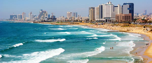 Tel Aviv is the Middle East's most happening and cutting-edge city!