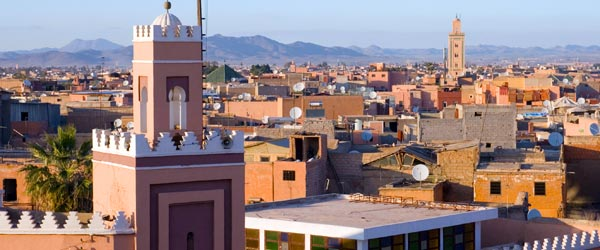 The walled city of Marrakech with its smells, sounds and sights is an all-out assault on the senses!