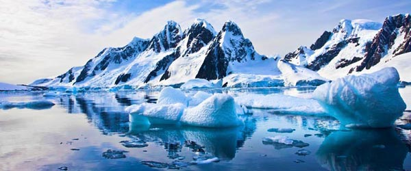 The scenery of Antarctica is a sight that most never get to see.
