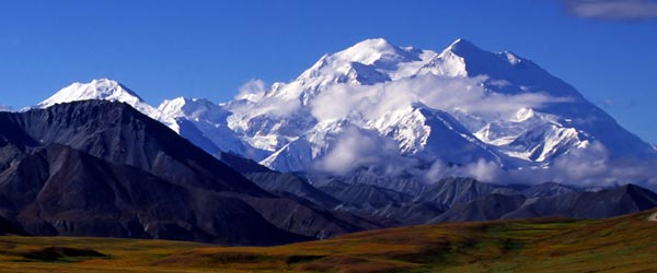 Mount McKinley, in Denali National Park, is the third most prominent peak in the world!