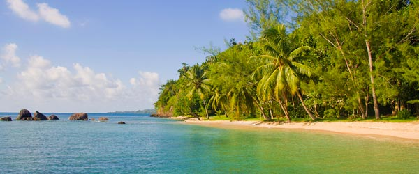 Tropical beaches like this can be found in virtually every part of Madagascar.