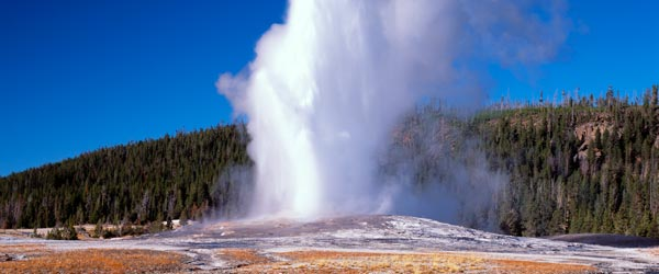 Like clockwork, the Old Faithful Geyser erupts every 91 minutes.
