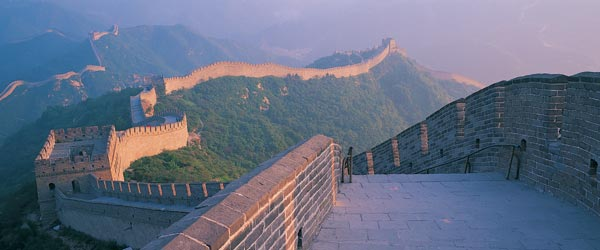 Let's not forget about the Great Wall of China, which was built to keep the Mongols out!