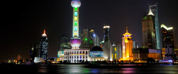 Shanghai has perhaps the most futuristic skyline on earth.