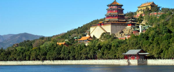 The Summer Palace was used as an imperial escape from the heat.