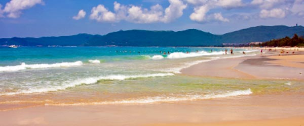 Hainan's most famous beach area is Yalong Bay.