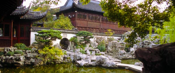 The Yu Yuan Gardens in Old Shanghai is the city's largest classical garden.