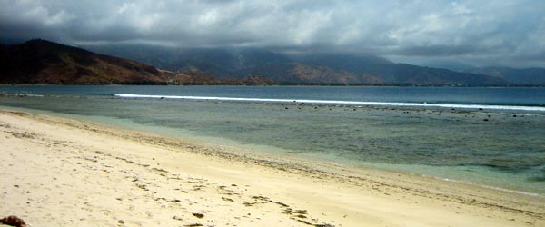 The country of East Timor has tons of deserted beaches like this one.