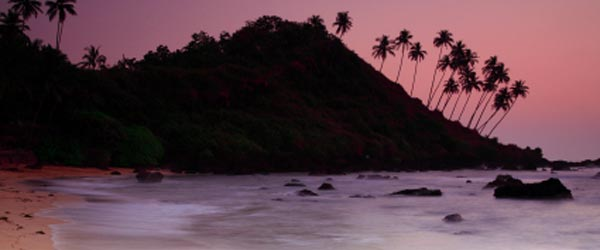 Colva, in South Goa, is a relaxing beach that is popular with visitors.
