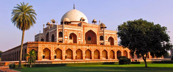 Humayun's Tomb in Delhi is the precursor to the Taj Mahal.