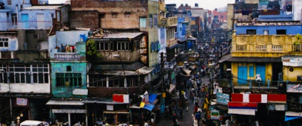 Old Delhi is a world apart from sleek New Delhi.