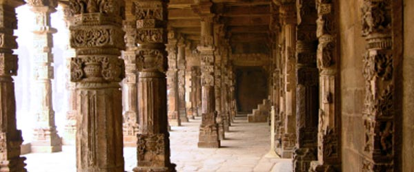 Qutub Minar is one of Delhi's three UNESCO World Heritage Sites.