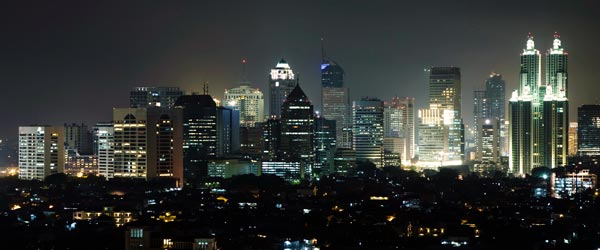 Jakarta has a curious mix of modernity and tradition.