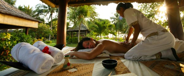 Bali is a tropical paradise made even more relaxing by massages.