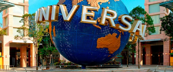 Sentosa is the location of Southeast Asia's first Universal Studios theme park!