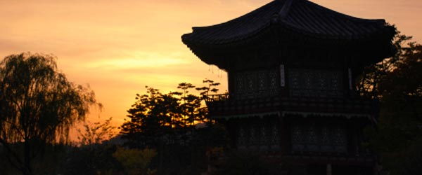 Gyeongbokgung Palace is one of five historic palaces in Seoul.