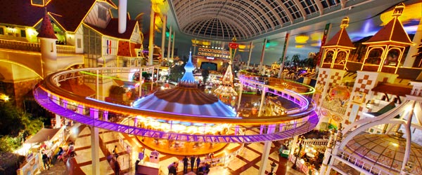 Lotte World, in Gangnam-gu, is the world's largest indoor theme park.