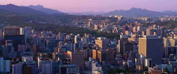 Seoul is one of Asia's largest cities and very spread out geographically.