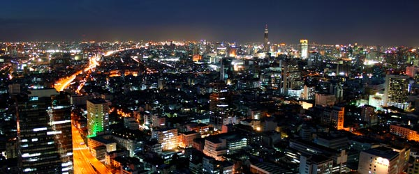 Bangkok is large beyond belief and 15 million people live in the city.