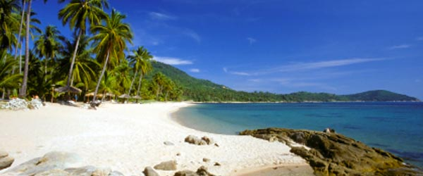 Chaweng Beach is Koh Samui's most famous beach.