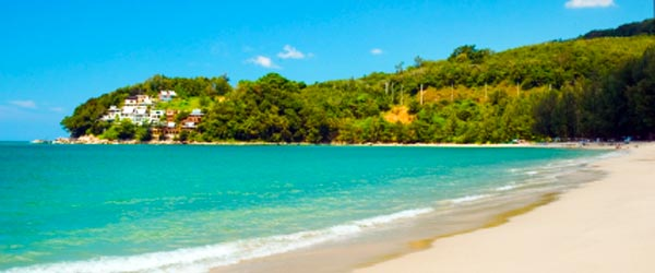 Kamala Beach is a secluded and relaxing beach popular with families.