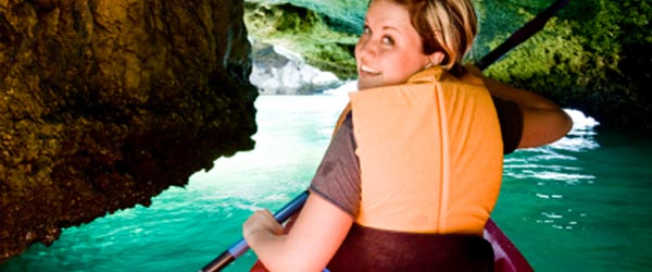 Kayaking is just one of the many outdoor activities on Phuket.