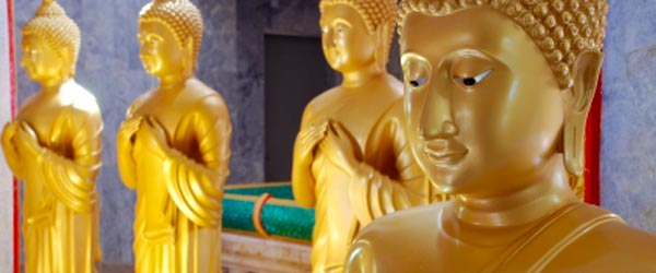 The Wat Chalong temple is the most important temple on Phuket.