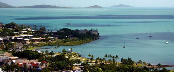 Airlie Beach is a charming small town on the coast of Queensland.