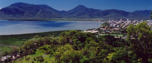 Cairns is a small city located on the northern coast of Queensland.