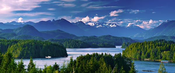 The Tofino Inlet is one of Vancouver Island's most scenic destinations.