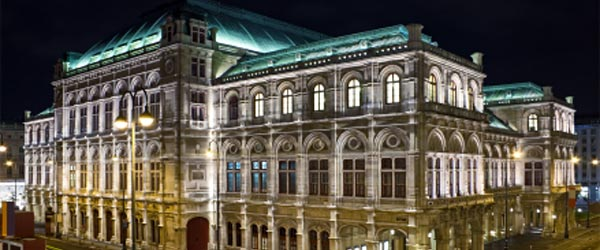 The State Opera House in Vienna. One of the world's top opera companies.