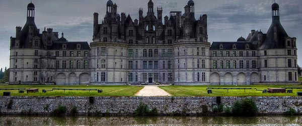 King Francois I's Chambord Chateau with over 440 rooms!