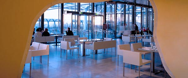 The Georges Restaurant is a gourmet restaurant in the Centre Pompidou.