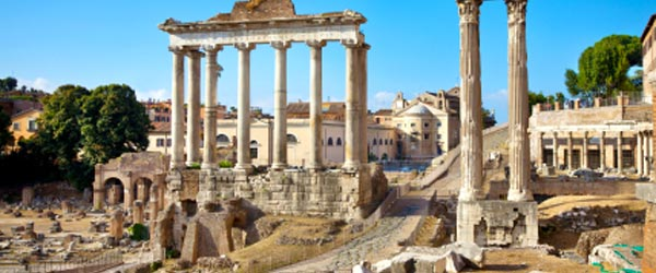 The Forum is where imperial business was conducted during the empire.