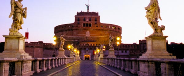 Castel Sant'Angelo is the resting place of the emperor Hadrian.