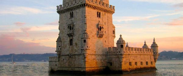 Belem Tower was built in 1515 to guard the entrance to Lisbon's harbor. Photo credit Cris / Flickr CC BY 2.0