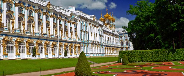 The Summer Palace of Emperor Peter The Great, founder of St Petersburg.