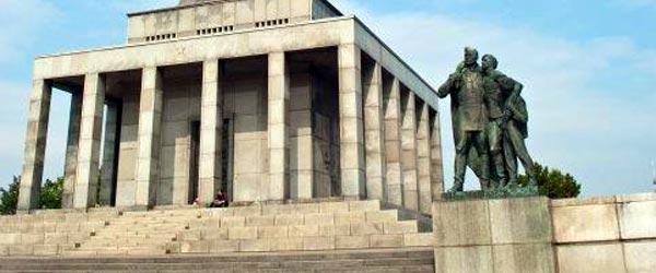 The Slavin Monument commemorating the Soviet liberation of Slovakia. Photo credit: Phil Woolman
