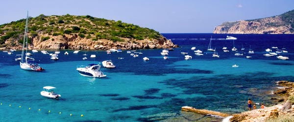 The stunning coastline of Mallorca, with its azure Mediterranean waters.