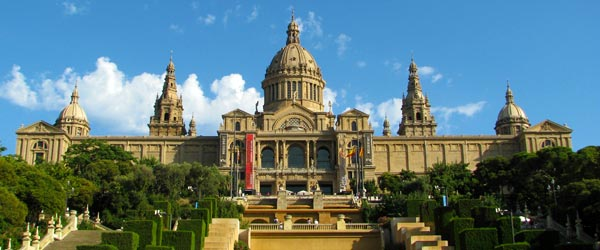 The intimidating Palau Nacional houses the MNAC.