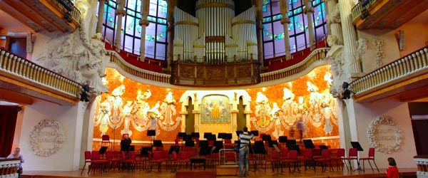 The Palau de la Musica is the place to be for classical music performances.