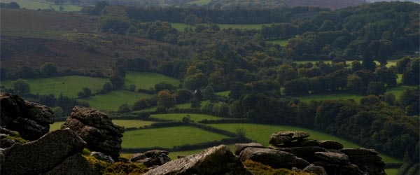 The view while hiking in Dartmoor. Photo credit Patrick Gruban / Flickr CC BY-SA 2.0