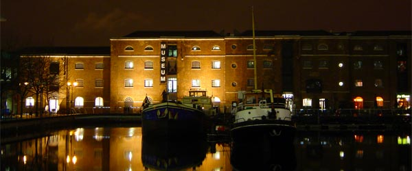 The London Docklands Museum reveals the history of life on the docks.